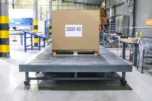 рольганг для тяжелых грузов