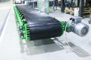 Желобчатый транспортёр для удаления строительного мусора