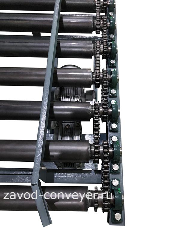 Приводные рольганги для тяжелых грузов