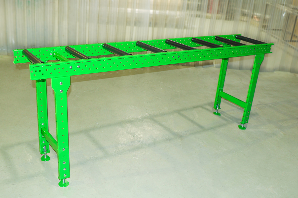 Рольганг неприводной горизонтальный - РНГ 1500/800/800/R48/S110