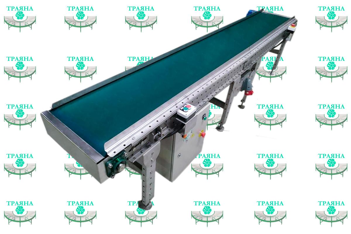 Ленточный конвейер из немагнитных материалов для производителя автозапчастей