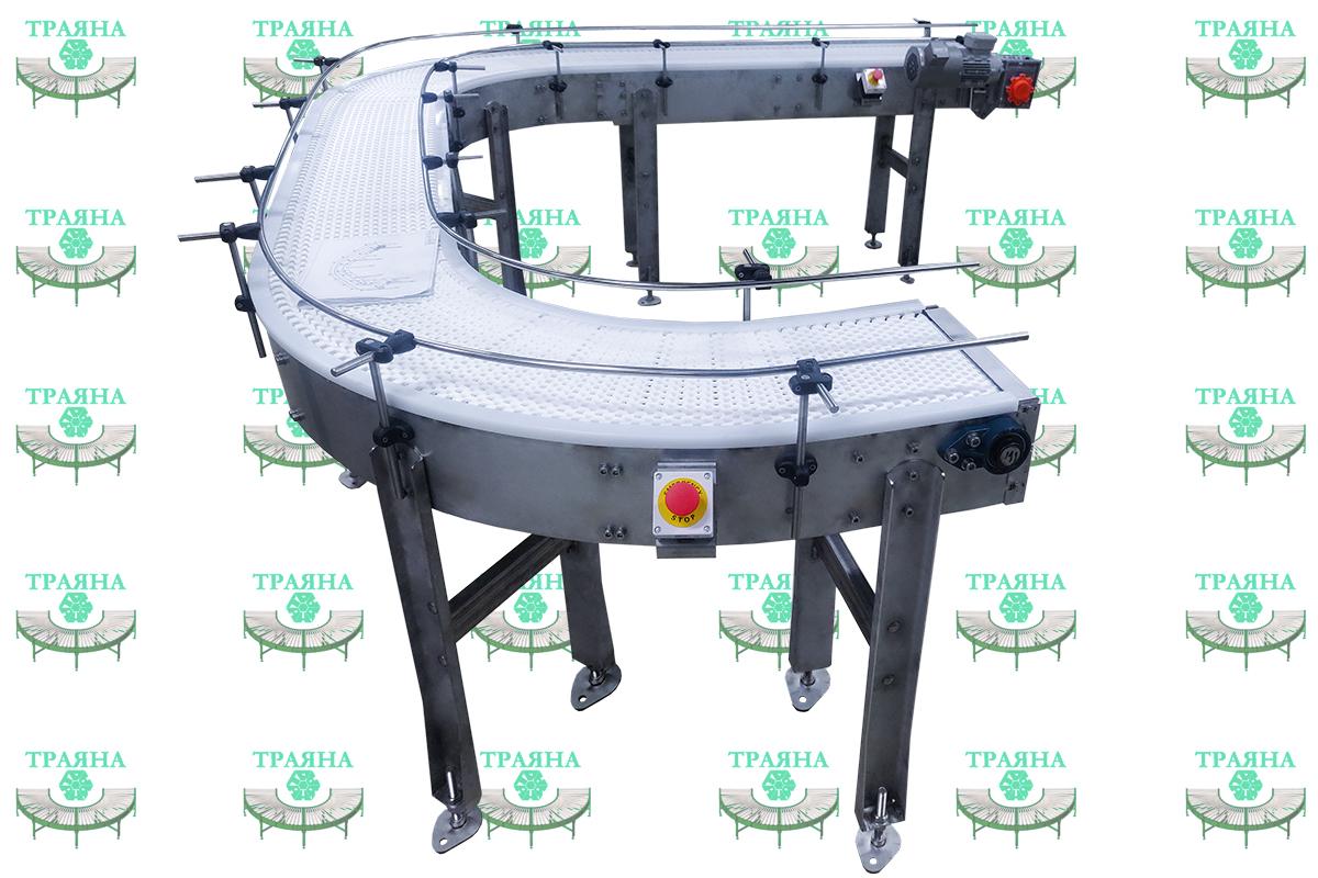 Модульный поворотный конвейер ТРАЯНА-МКН 5000