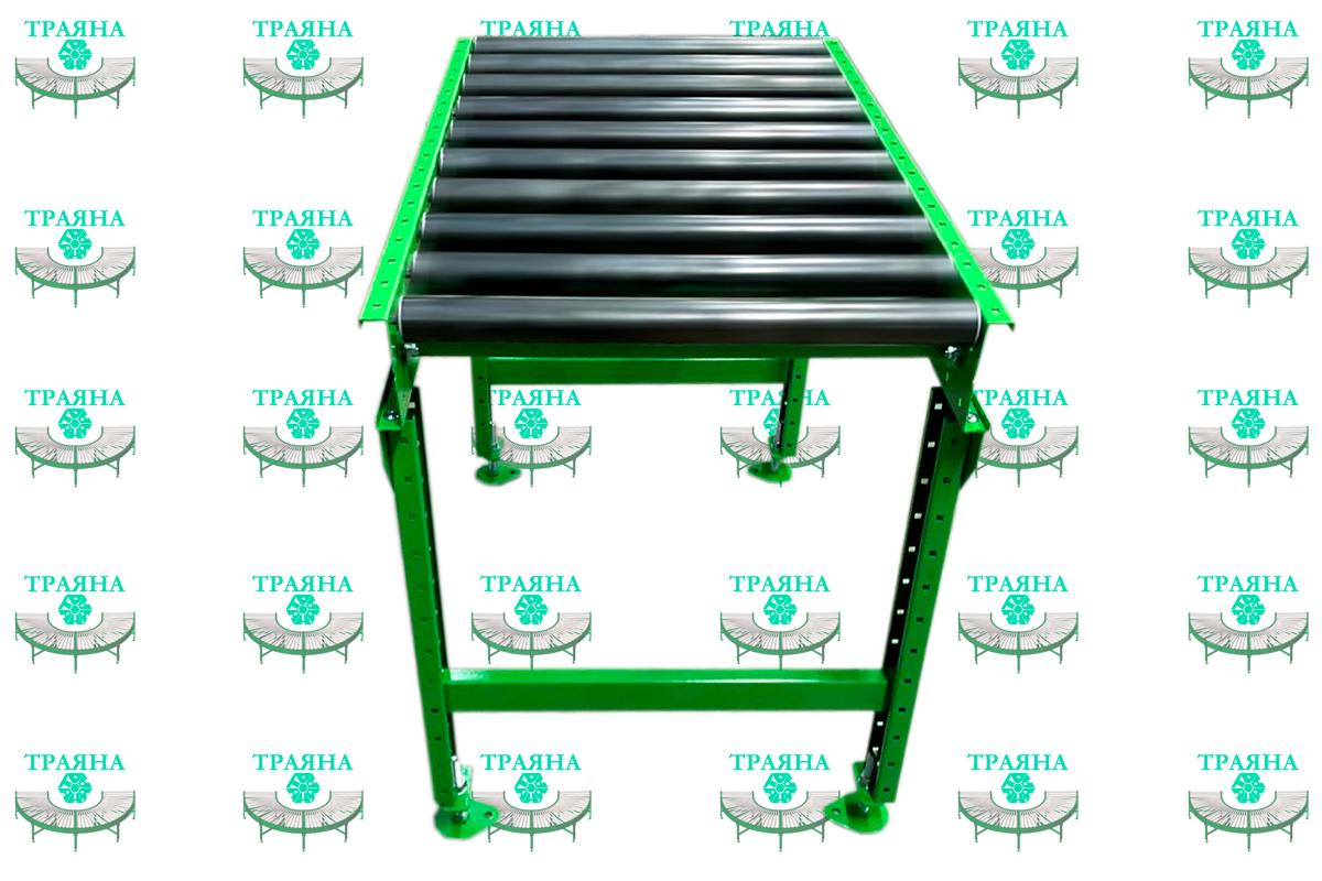 Стандартный рольганг РНГ для станка - РНГ 1000/800/1000/R48/S110