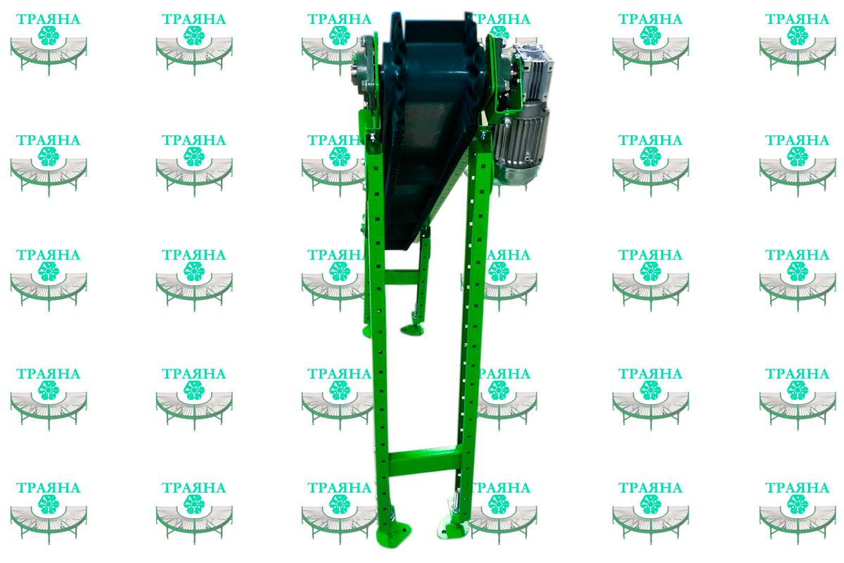 Наклонный конвейер для отведения стружки от станка