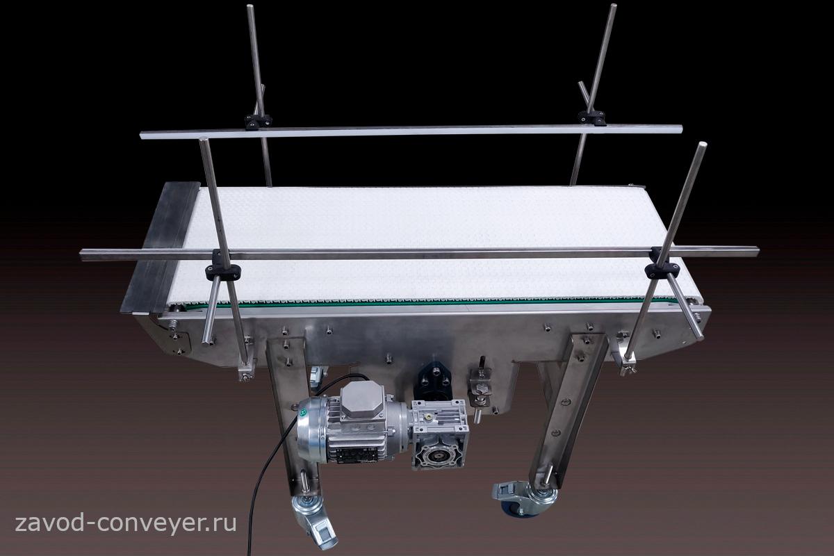Модульный конвейер для транспортировки ПЭТ
