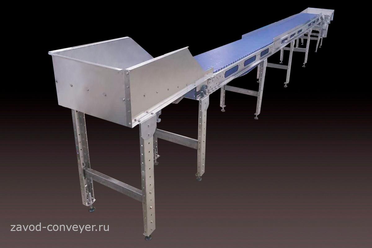Модульный транспортёр из нержавеющей стали