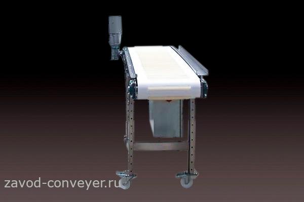 Транспортёр для линии этикетировки и упаковки товара