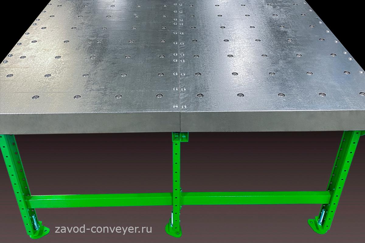 Секционный шариковый стол для ручной сортировки
