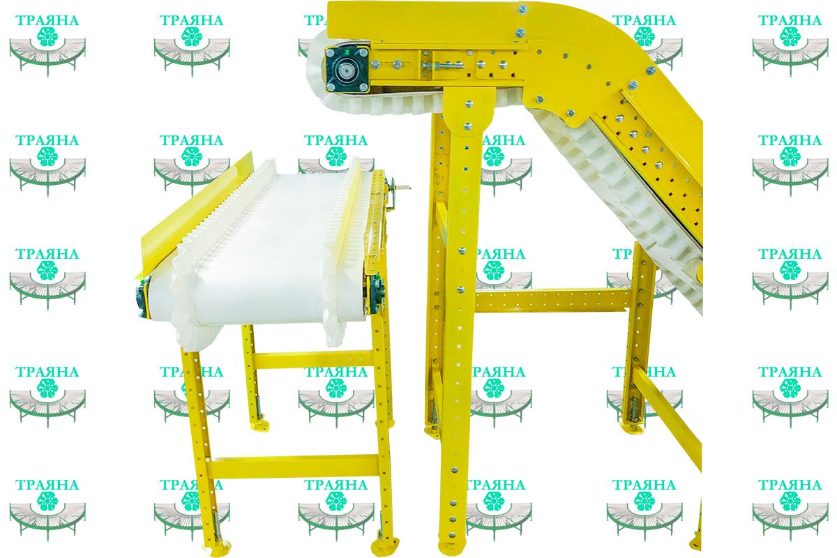 Z-образный конвейер для производства ПЭТ бутылок