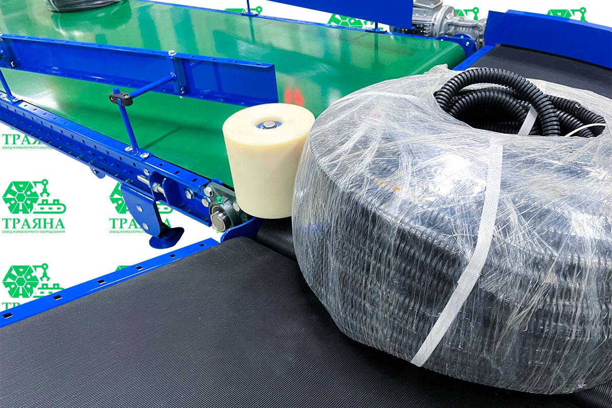 Линия конвейеров для автоматизации производства ПВХ труб